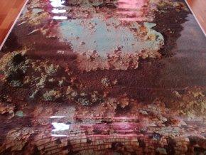 3d folie imitace rezaveho plechu rusty camouflage vinyl car body film typ17 007