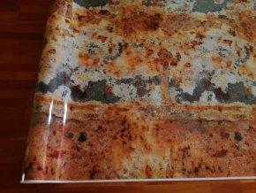 3d folie imitace rezaveho plechu rusty camouflage vinyl car body film typ23 001