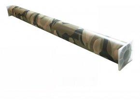 152cm x 50cm CAMOUFLAGE FOLIE 3D ŠEDÁ tvarovatelná