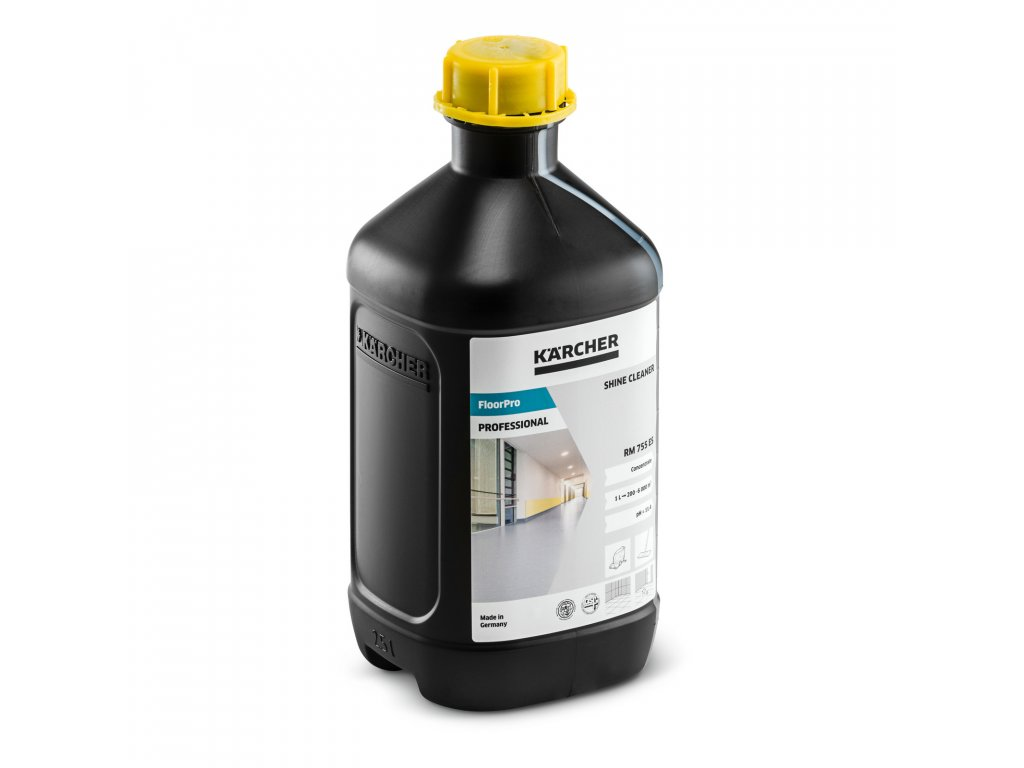 Kärcher - Floor gloss clEANer clEANing agents 755