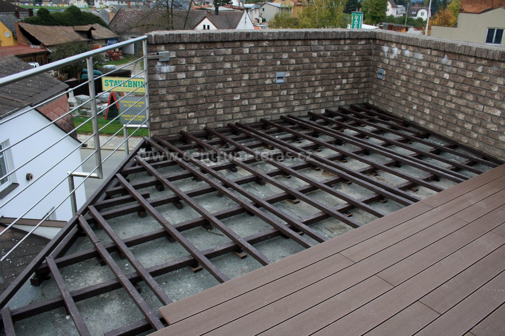 WPC prkna, dlažba na balkon a lodžii