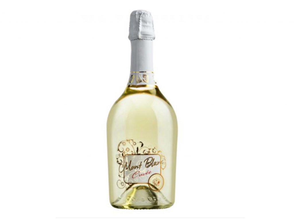 Mont Blanc Extra Dry Vino Bianco Spumante - karton (6 lahví)