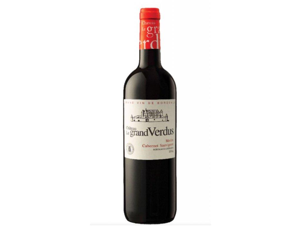 frč Chateau Le Grand Verdus Rouge 0,75l