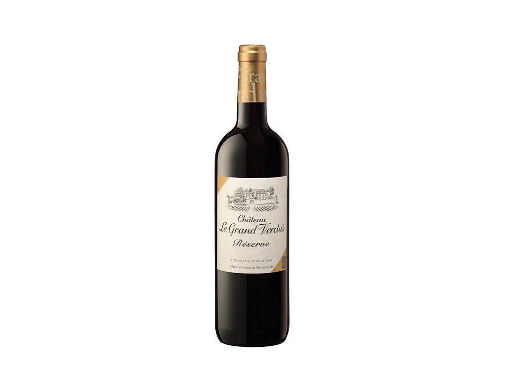 frč Chateau le Grand Verdus Bordeaux Supérieur « Réserve » 2018, 0,75l