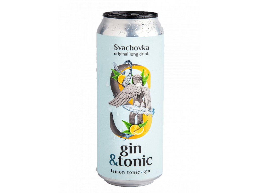 Gin Tonic Svachovka 72% alk. 500ml