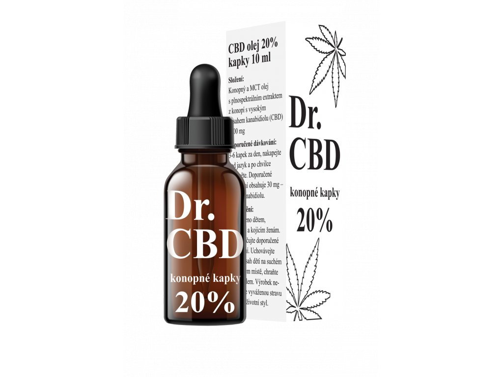 CBD olej 20