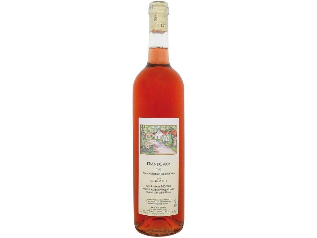 Frankovka rosé Mádl