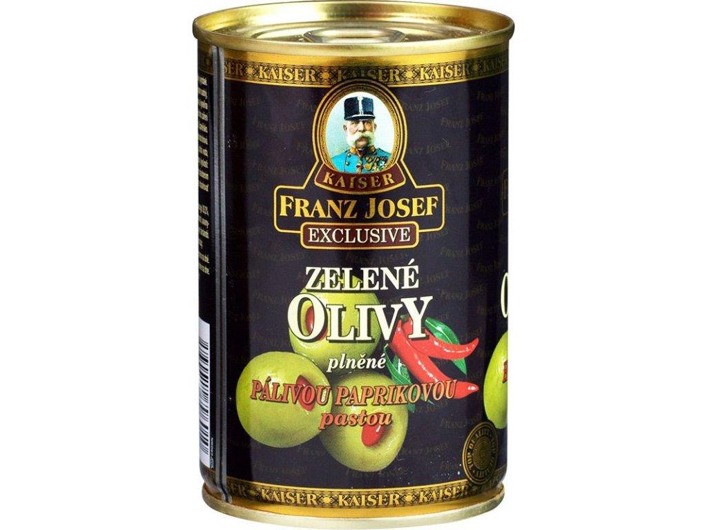 přísady olivy paprika