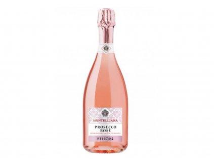 Prosecco Rose Millesimato Brut Meliora, Treviso DOC, Montelliana - karton (6 lahví)