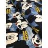 Bavlněná teplákovina Mickey