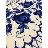 Vaflovina modrý vzor
