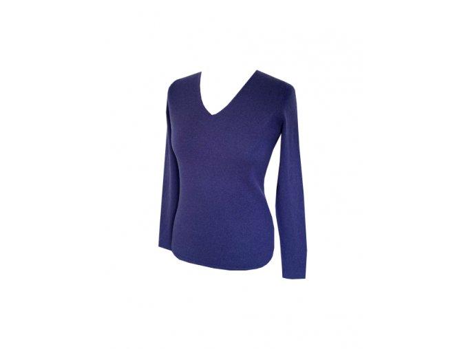 kasmirovy svetr fialovy