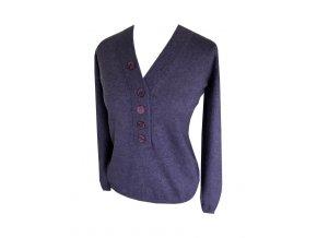 fialovy kasmirovy svetr