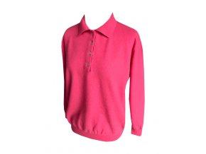 madeleine kasmirovy svetr ruzovy