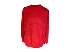 kasmirovy svetr cerveny
