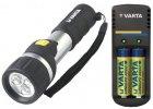 baterie, nabíječky, svítilny