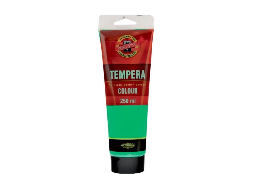 Temperová barva Koh-i-Noor 250ml sv. zelená