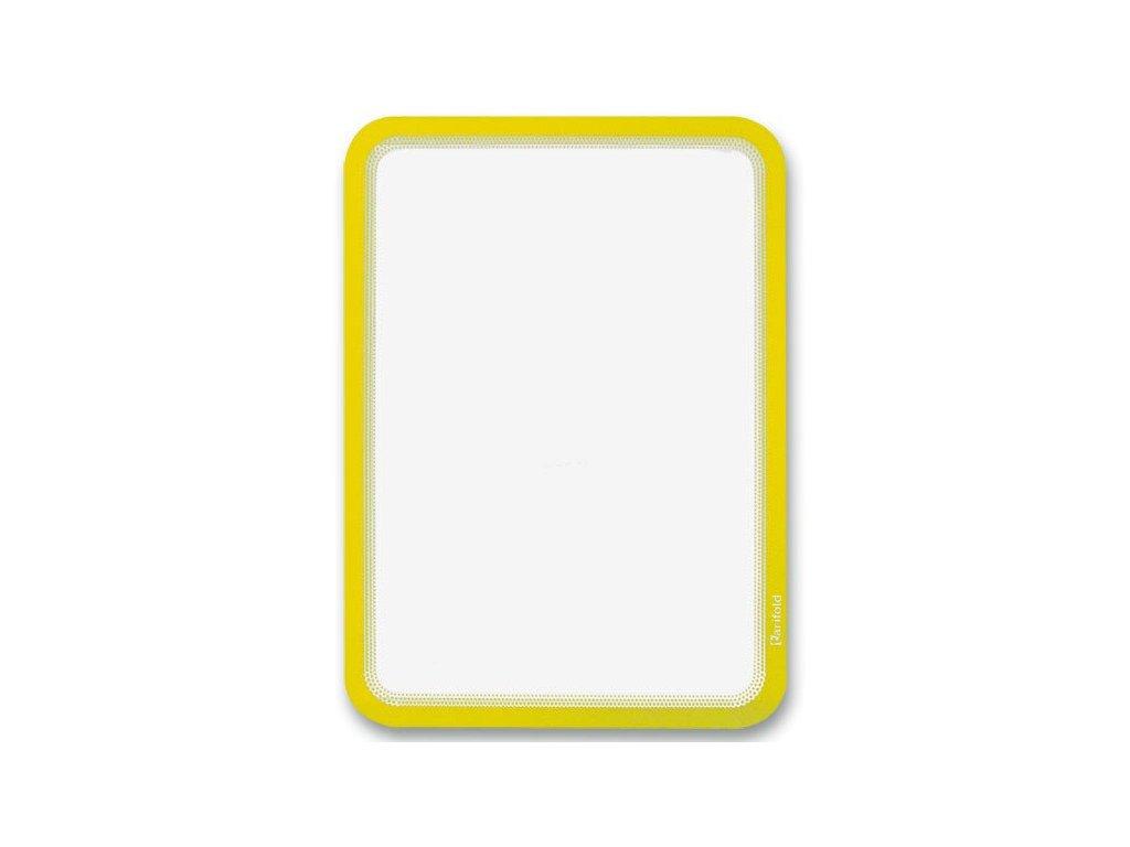 Samolepicí kapsa Tarifold Magneto žlutá