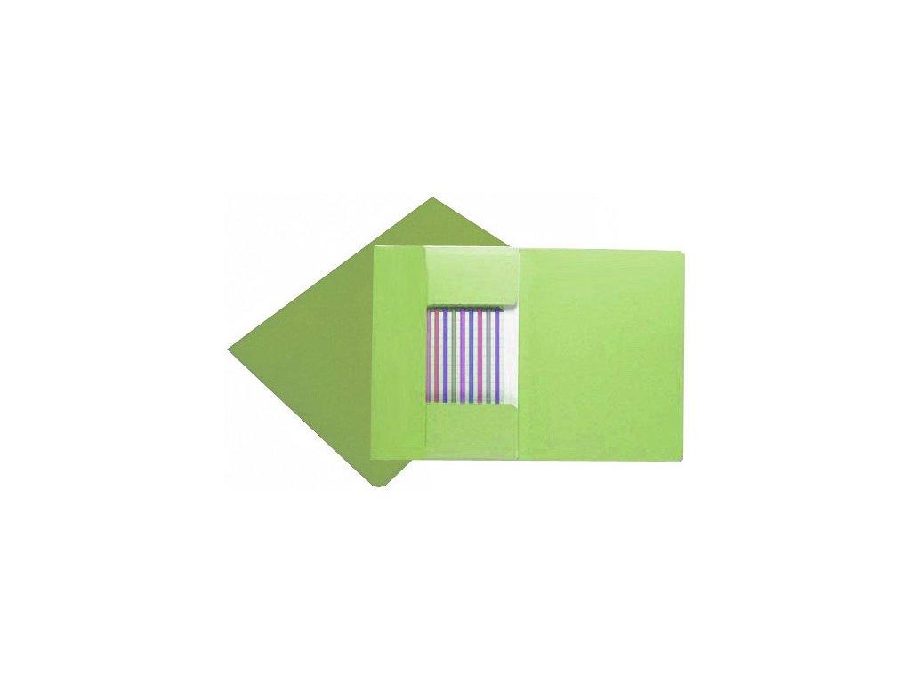 Desky HIT 253 s chlopněmi A4 zelené