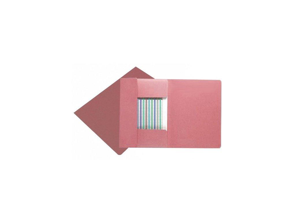 Desky HIT 253 s chlopněmi A4 růžové