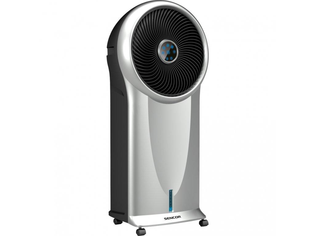 3 v 1 = ventilátor, ochlzovač, zvlhčovač, 3 rychlosti proudění, 3 provozní módy