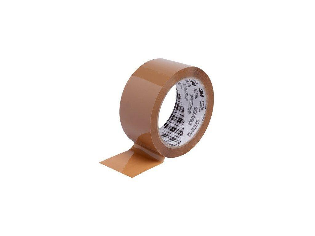 Balicí páska 3M Tartan 369 50mm 66m hnědá