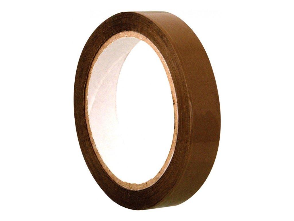 Balicí páska 25mm/66m hnědá
