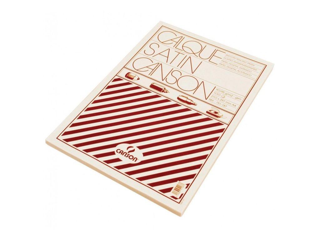 Pauzovací papír arch A4 90g 100 listů