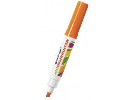 Centropen 8052 Mini zvýrazňovač oranžový