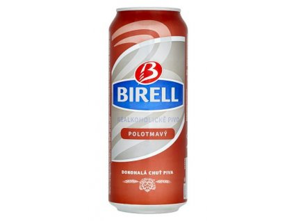 Birell polotmavý 4x0,5l