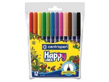 Centropen 2521 Happy liner sada 12ks