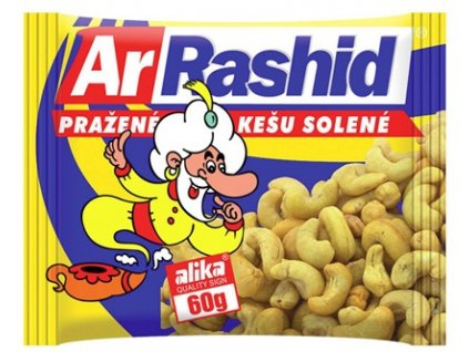 Ar.Rashid pražené Kešu solené 60g