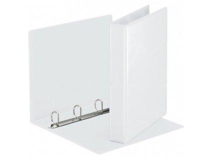 Katalogový vazač D15 4-kroužkový A4 20mm bílý