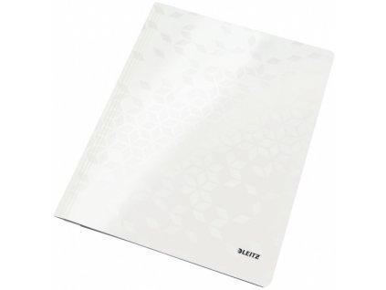 Desky s rychlovazačem Leitz WOW bílé