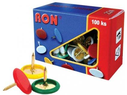 Připínáčky barevné RON 224