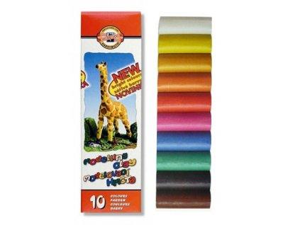 Plastelína Koh-i-Noor 10 barev