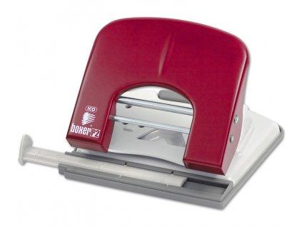 Děrovač Boxer P2 červený