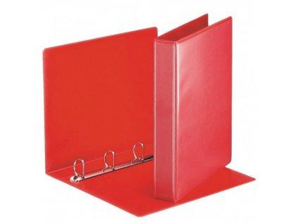 Katalogový vazač D15 4-kroužkový A4 20mm červený