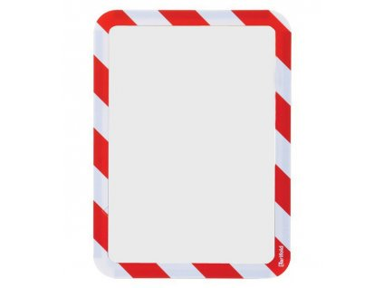 Kapsa magnetická bezpečnostní signální A4 červeno-