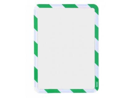Kapsa samolepicí bezpečnostní signální A4 zeleno-b