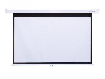Projekční plátno 4World nástěnné 221x124cm
