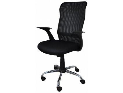Kancelářská židle RHODOS černá