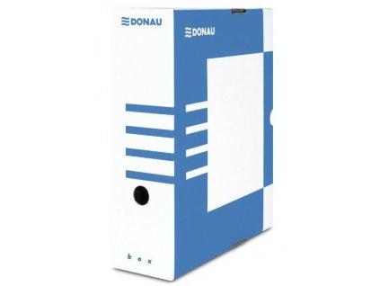 Archivační krabice Donau papírová 120mm modrá