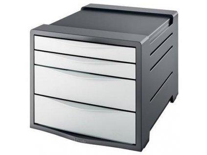 Zásuvkový box Esselte Vivida bílý
