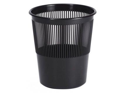 Koš děrovaný 11L černý