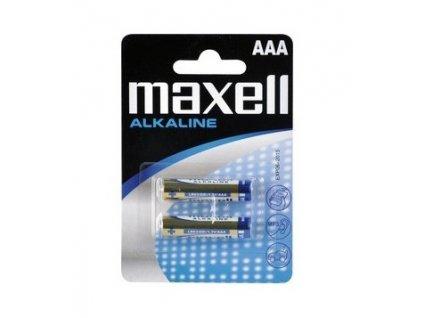 Alkalické baterie MAXELL AAA 2ks