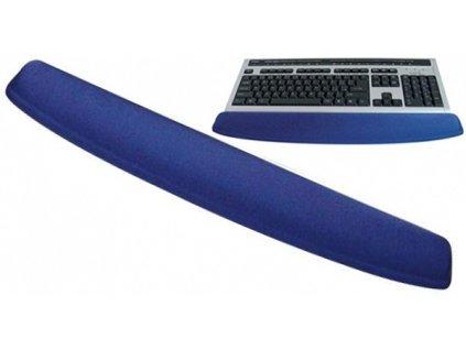 Gelová podložka ke klávesnici modrá