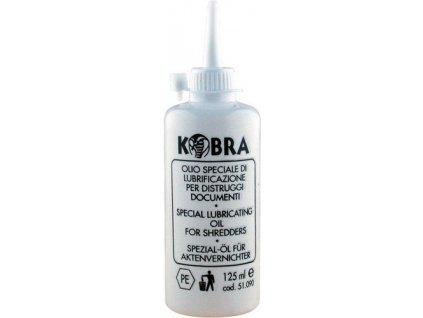 Čistící olej Kobra do skartovaček 125 ml