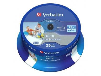 BD-R Verbatim 25GB/6x 25-pack Hard Coat SL Printab
