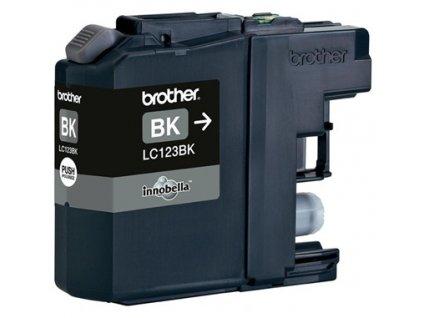 Kompatibilní inkoust Brother LC123BK černý